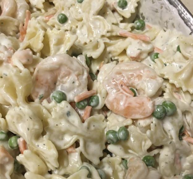Vikki's Shrimp Pasta Salad